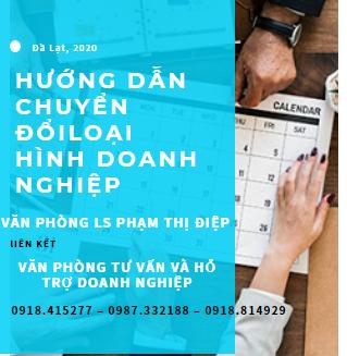 Tư vấn Doanh nghiệp Lâm Đồng - Chuyển đổi loại hình