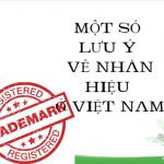 Lưu ý về nhãn hiệu ở Việt Nam